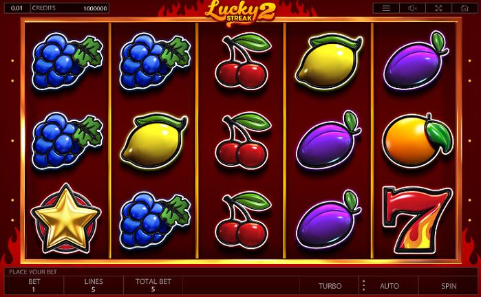 Игровой автомат Lucky Streak 2