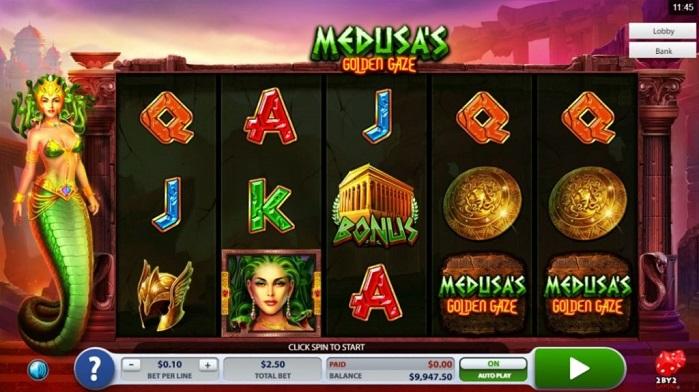 Игровой автомат Medusa's Golden Gaze