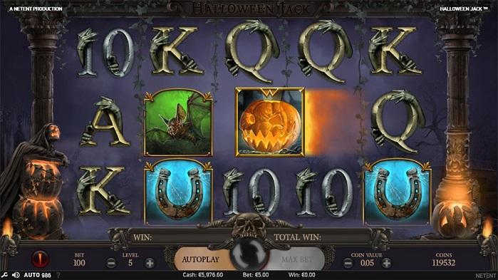 Игровой автомат Halloween Jack