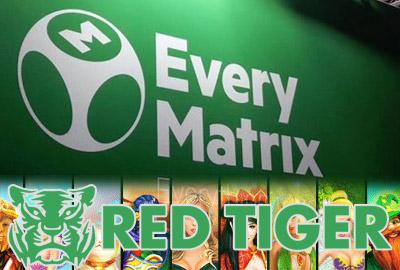 Red Tiger Gaming заключает договор по контенту с EveryMatrix