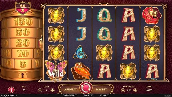 Игровой автомат Turn Your Fortune