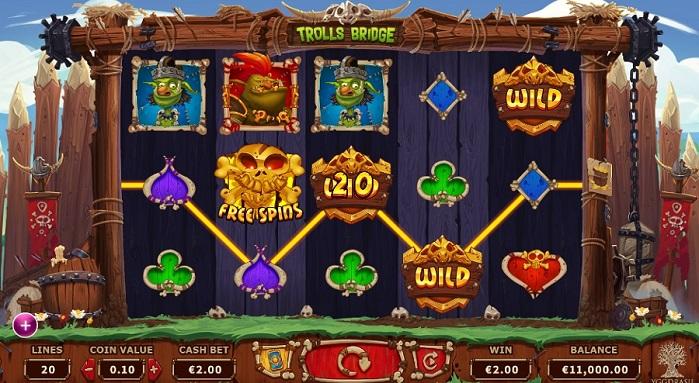 Игровой автомат Trolls Bridge