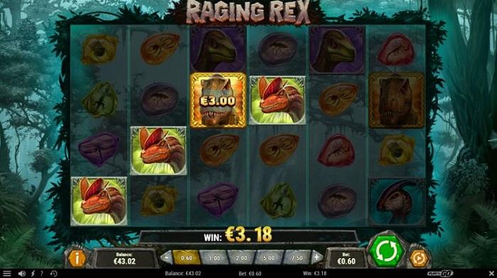 Игровой автомат Raging Rex