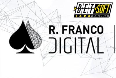 Betsoft Gaming подписывает партнерское соглашение с R. Franco Digital