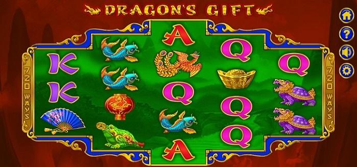 Игровой автомат Dragons Gift