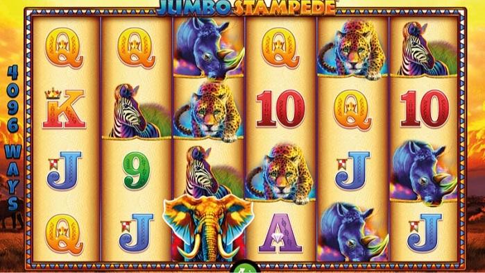 Игровой автомат Jumbo Stampede