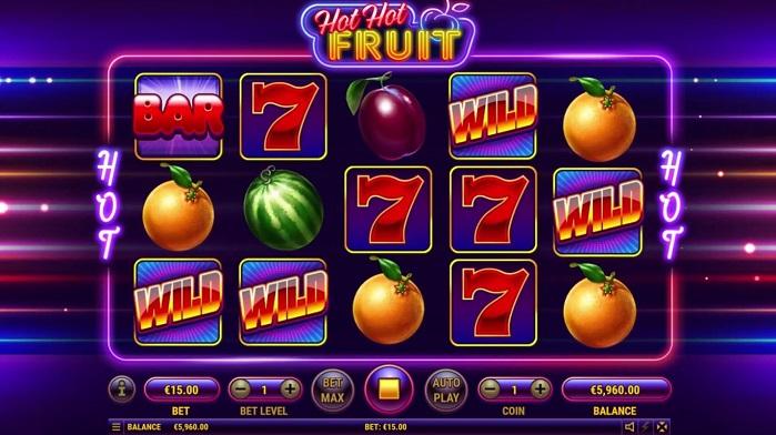 Игровой автомат Hot Hot Fruit