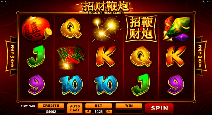 Игровой автомат Lucky Firecracker