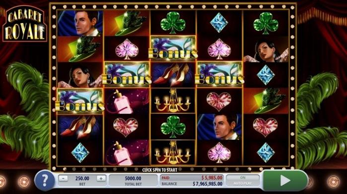 Игровой автомат Cabaret Royale