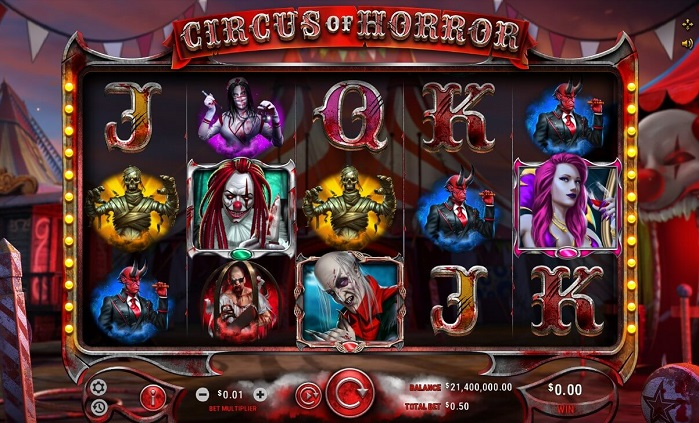 Игровой автомат Circus of Horror