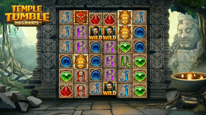 Игровой автомат Temple Tumble Megaways