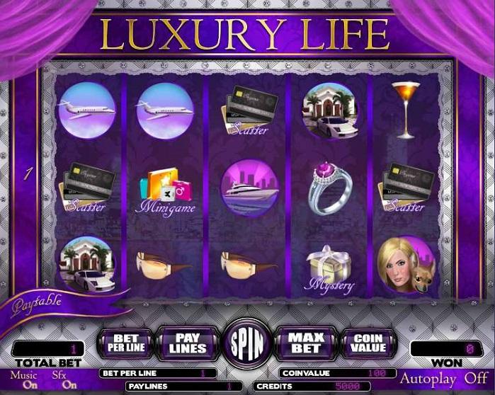 Игровой автомат Luxury Life