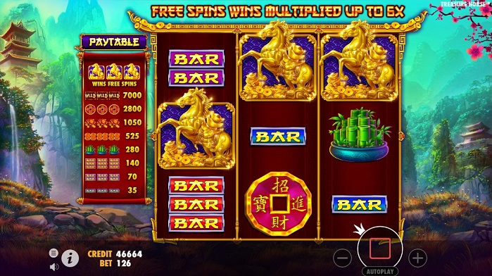 Игровой автомат Treasure Horse