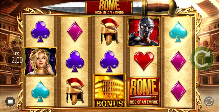 Игровой автомат Rome Rise Of An Empire
