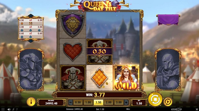 Игровой автомат Queen's Day Tilt