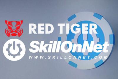 Платформа SkillOnNet интегрирует слоты Red Tiger в свой портфель