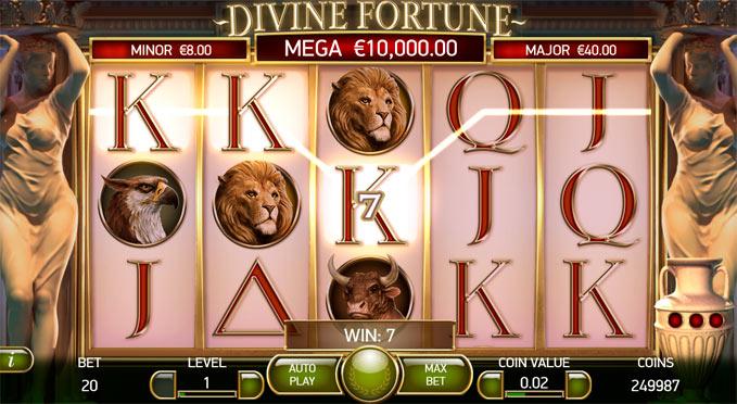 Онлайн слот Divine Fortune
