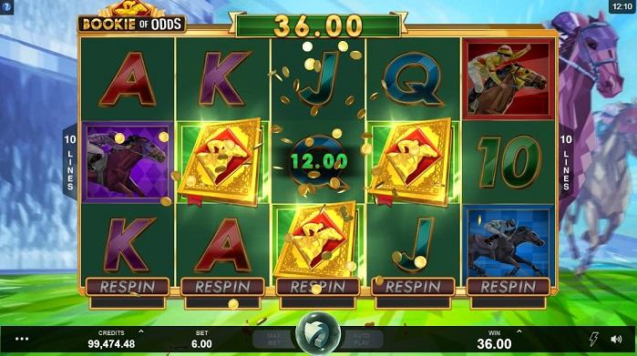 Игровой автомат Bookie of Odds