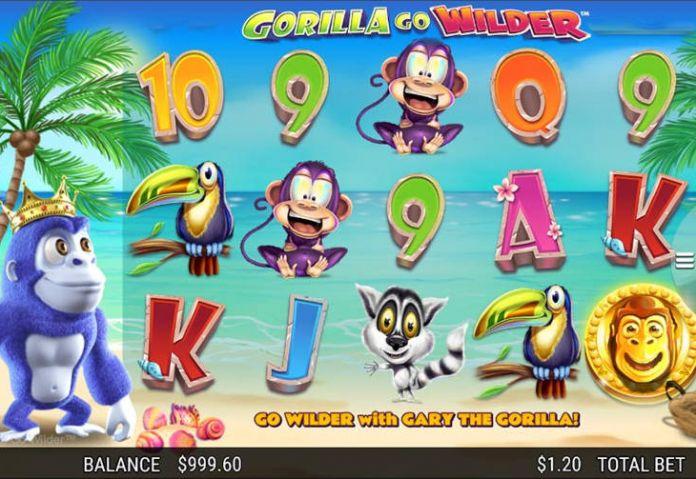 Игровой автомат Gorilla Go Wilder
