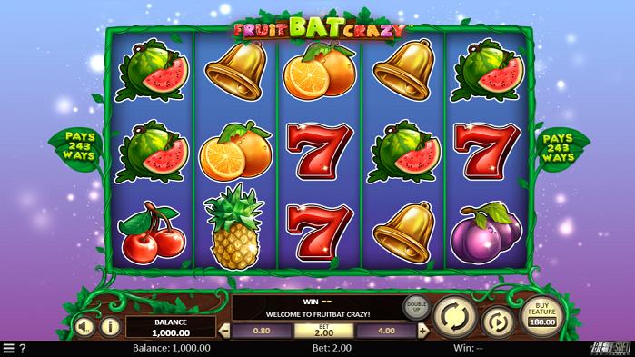 Игровой автомат Fruitbat Crazy