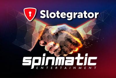 Slotegrator начал сотрудничать со Spinmatic
