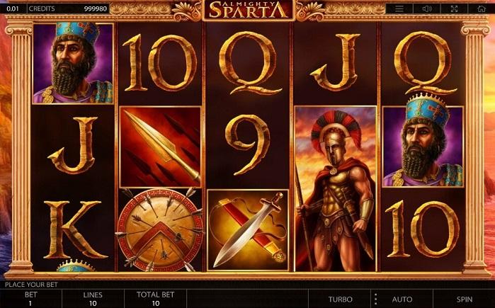 Игровой автомат Almighty Sparta