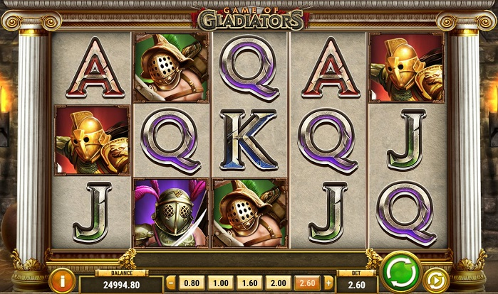 Игровой автомат Game Of Gladiators