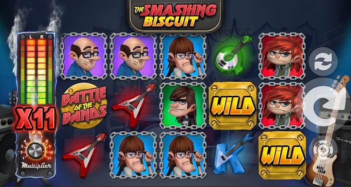 Онлайн слот The Smashing Biscuit