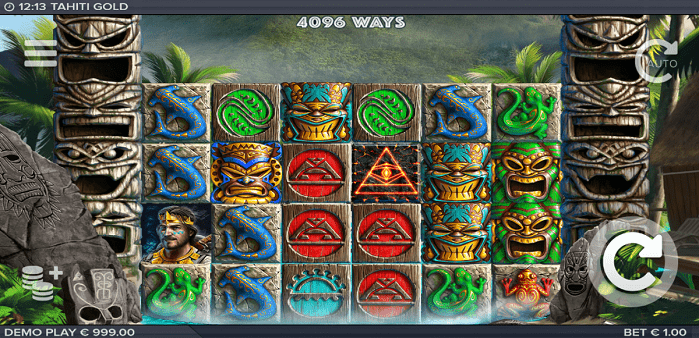 Игровой автомат Tahiti Gold