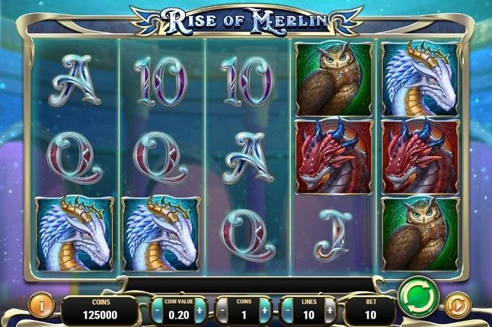 Игровой автомат Rise Of Merlin