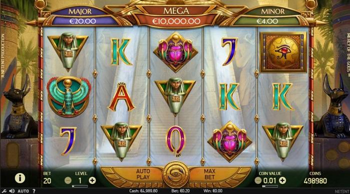 Игровой автомат Mercy of the Gods