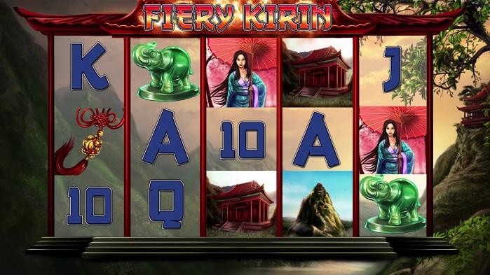 Игровой автомат Fiery Kirin