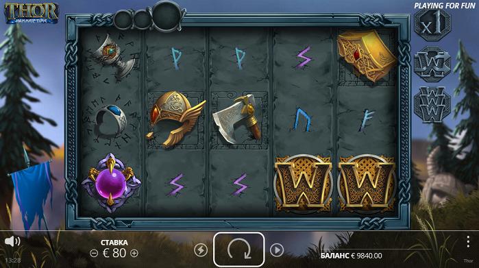 Игровой автомат Thor Hammer Time