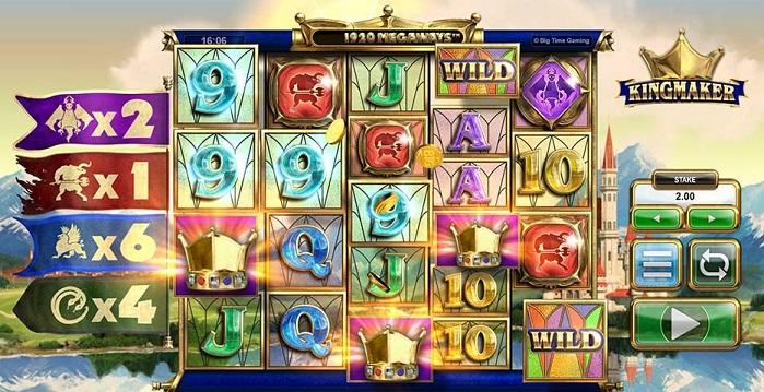 Игровой автомат Kingmaker