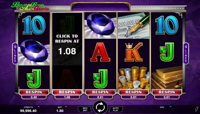Игровой автомат Break Da Bank Again Respin