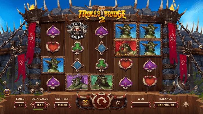 Игровой автомат Trolls Bridge 2