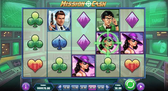 Игровой автомат Mission Cash