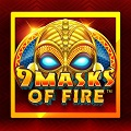 Онлайн слот 9 Masks On Fire
