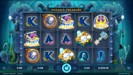 Слот Ocean's Treasure