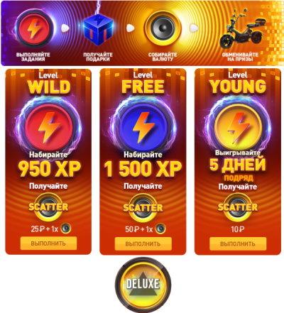 Энергия Свободы от казино Deluxe